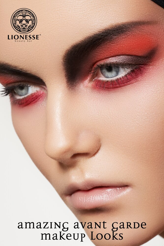 Amazing Avant Garde Makeup Looks Lionesse Beauty Bar
